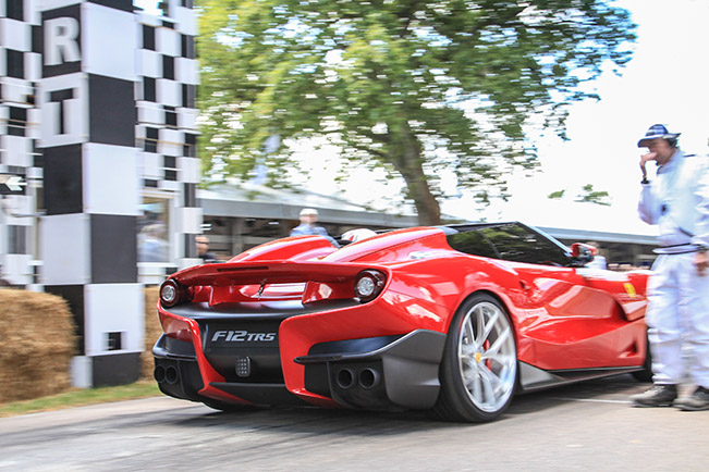 Ferrari at The Goodwood Festival of Speed – Final Day