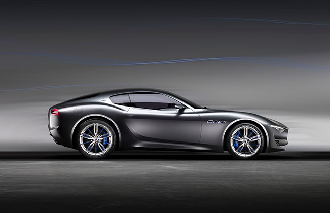 Maserati Alfieri Concept 01 International Maserati Centennial Gathering To Be Held in September