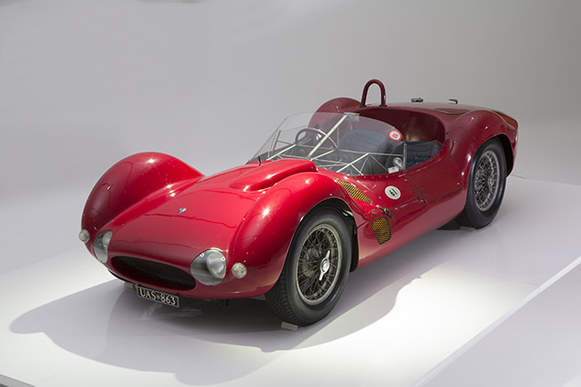 Maserati Centennial Exhibition Inaugurated in Modena