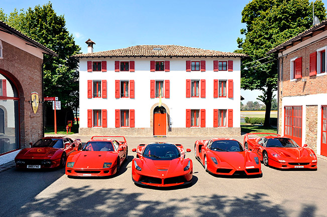 A Road Trip With The Most Exclusive of Ferraris A Road Trip With The Most Exclusive of Ferraris