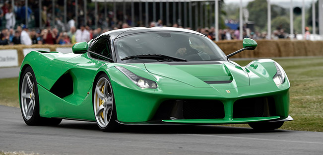 Jay Kay's LaFerrari a Crowd Pleaser at Goodwood