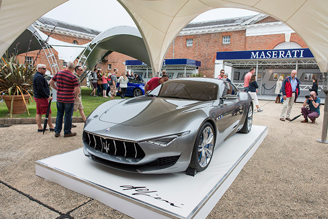 Maserati Alfieri Concept Goodwood Maserati Highlights at Goodwood Festival of Speed 2014