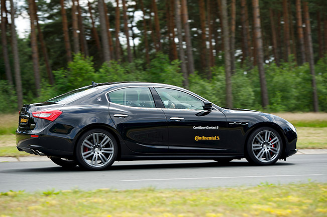 Maserati to Equip Ghibli With Tyres From Continental Maserati to Equip Ghibli With Tyres From Continental