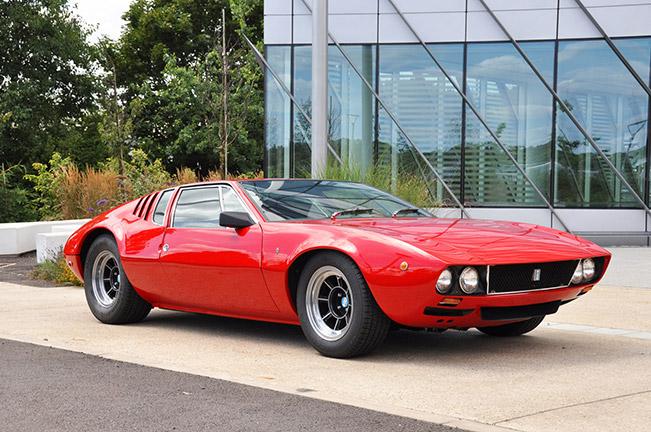De Tomaso Mangusta 1969 Front Angle 1969 De Tomaso Mangusta