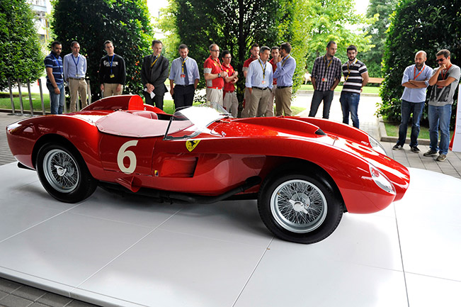 Ferrari 250 Testa Rossa Front Angle Priceless 250 Testa Rossa Shown Off to Ferrari Employees