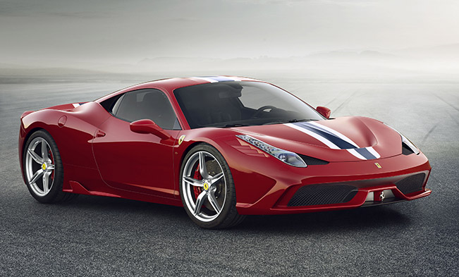 5-Star for the Ferrari 458 Speciale
