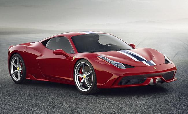 5-Star for the Ferrari 458 Speciale