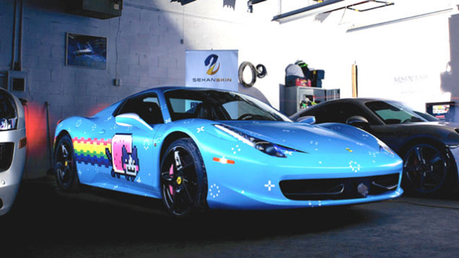 Ferrari Sent Deadmau5 A Cease And Desist About His Purrari Ferrari Sent Deadmau5 A Cease And Desist About His Purrari