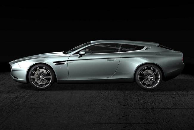 Zagato Atelier Announces The World Debut of The Aston Martin Virage Shooting Brake Zagato at The Chantilly Art s & Elegance Concours d'Elegance