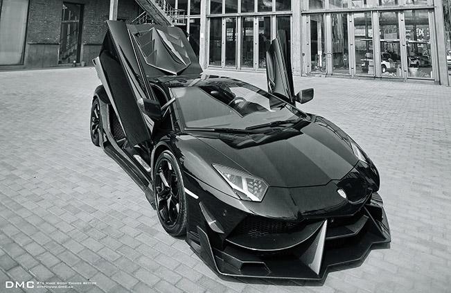 DMC Lamborghini Aventador 988 Edizione GT 2014 Front Angle DMC Lamborghini Aventador 988 Edizione GT