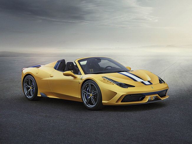 Ferrari 458 Speciale A: a New Record-Breaking Spider