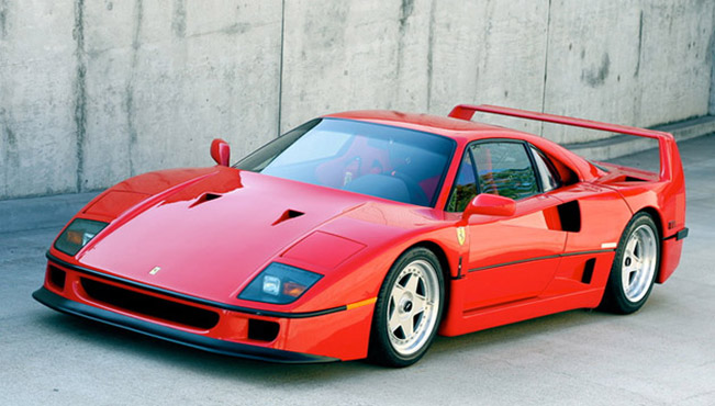 Ferrari F40 Front Angle Ferrari F40: Analogue Animal   XCAR [VIDEO]