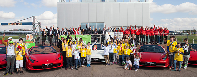 Ferrari Racing Days at Silverstone September Ferrari Racing Days Celebrates at Silverstone