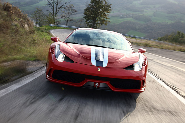 Ferrari 458 Speciale 2014 Front Everyone in The UK Goes Crazy About the 458 Speciale