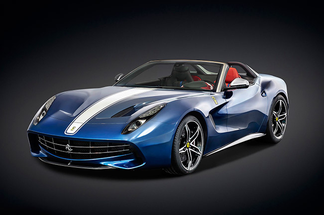 Ferrari F60America 2015 Front Angle Celebrating With the F60America