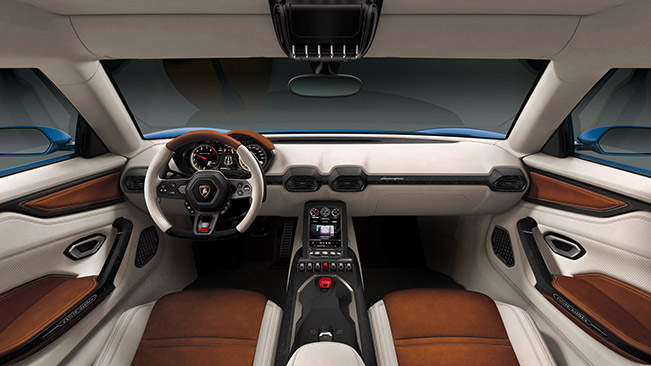 2015 Lamborghini Asterion LPI910-4 Concept Interior