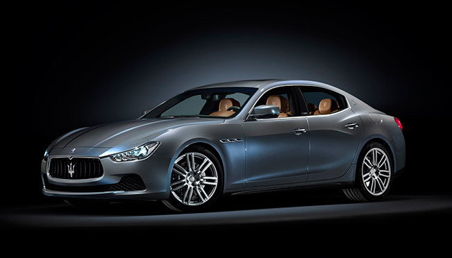 Maserati Presents the New Ghibli Ermenegildo Zegna Edition Concept at Paris Motor Show