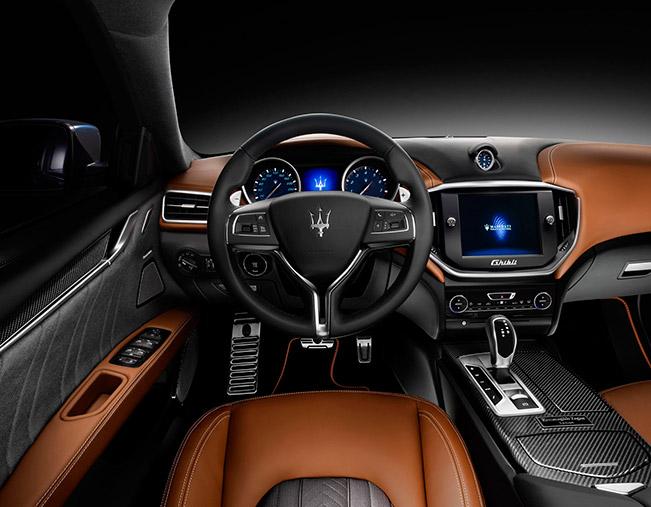 2014 Maserati Ghibli Ermenegildo Zegna Edition Concept Interior