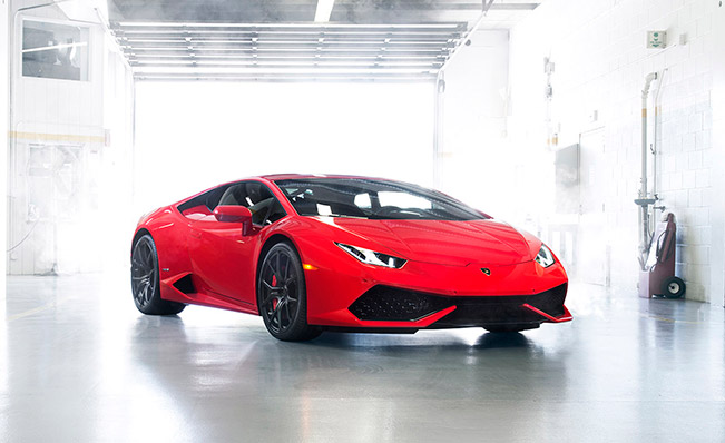 Vortsteiner Nero Program - The New Lamborghini Huracan LP 610-4