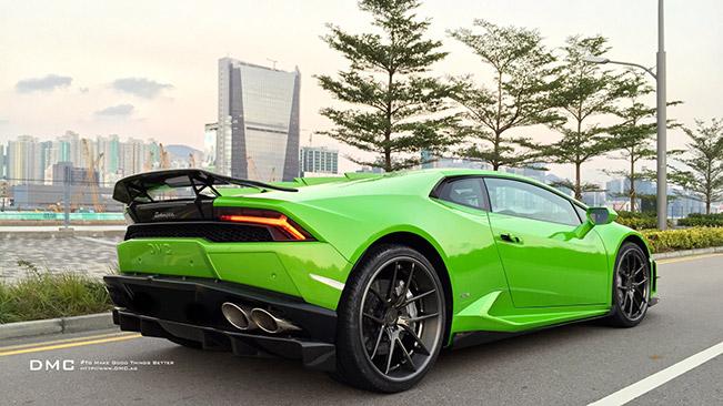 DMC Lamborghini Huracan AFFARI Rear Angle