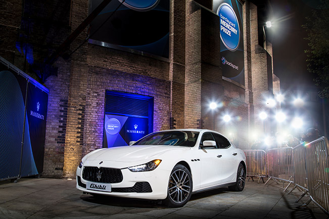 Maserati Dazzles the Music Industry at The 2014 Barclaycard Mercury Prize