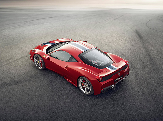 The 458 Speciale is EVO's Car of the Year 2014