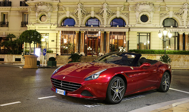 The California T takes on Monte Carlo The California T takes on Monte Carlo [VIDEO]