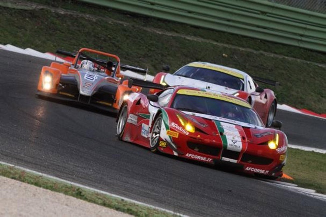 Victory for Ferrari with Fisichella Cioci and Perazzini Victory for Ferrari with Fisichella, Cioci and Perazzini