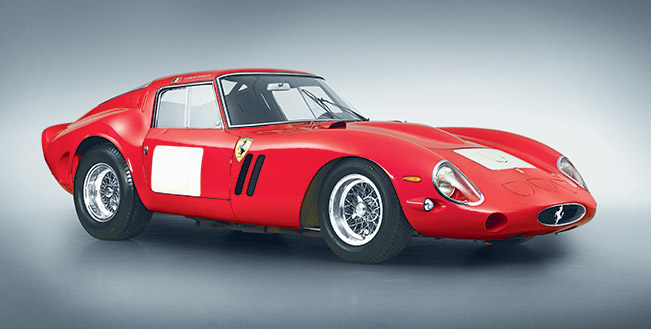 1962 Ferrari 250 GTO Ferrari Sets Record at Auction