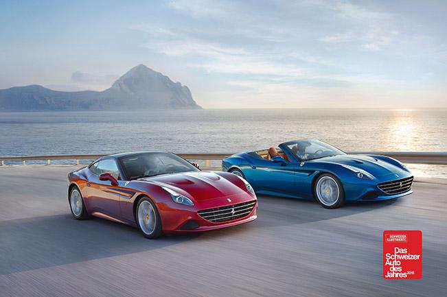 Ferrari California T 2014 Front Angle Critical Acclaim for The California T