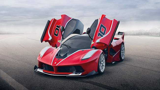2015 Ferrari FXX K Front Angle