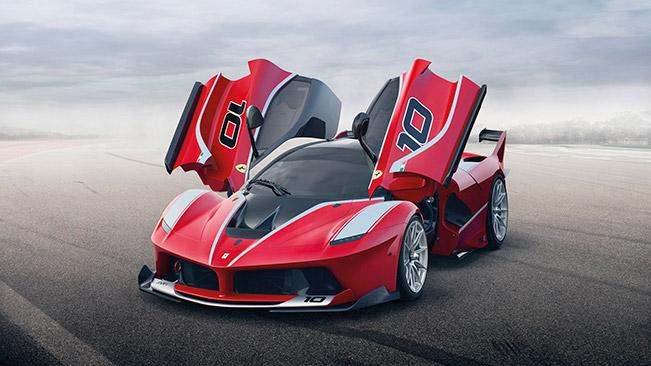 Ferrari FXX K 2015 Front Angle Ferrari FXX K   World Premiere in Abu Dhabi