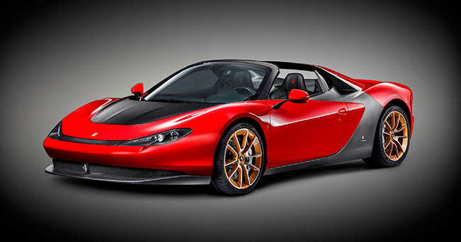 Ferrari Sergio 2015 Front Angle The Ferrari Sergios are Coming