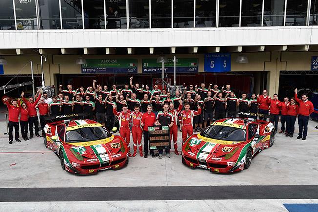 Ferrari Takes GT Constructors Title Ferrari Takes GT Constructors' Title