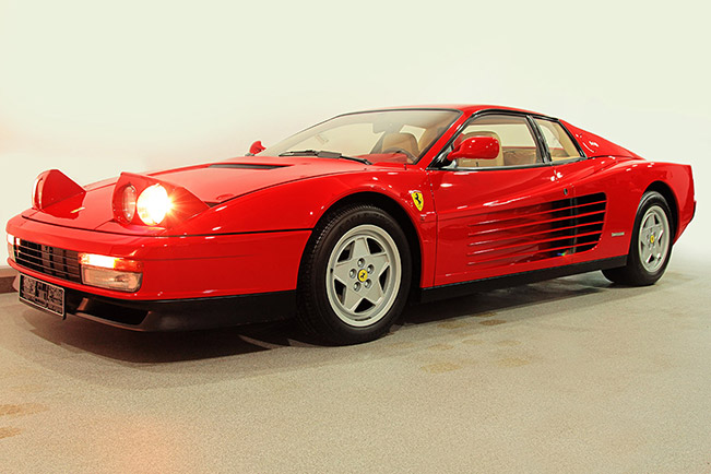 Ferrari Testarossa 1991 Front Angle Incredibly Low Mileage Italian Collection for Race Retro Sale