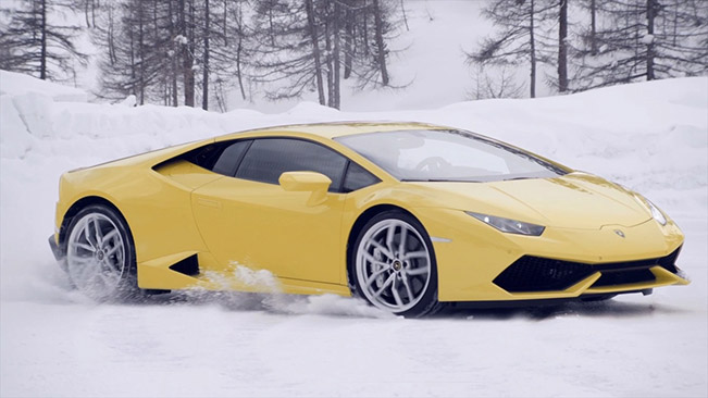 Lamborghini Huracan Winter Accademia Lamborghini Announces First Ever North American Winter Accademia for 2015