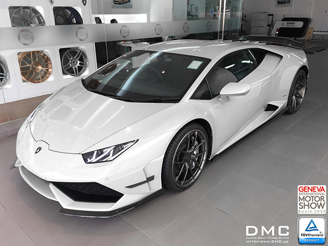 DMC Lamborghini Huracan 2015 Front Angle DMC Gets German TUV Certification