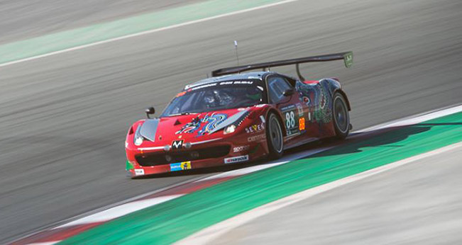 Dragon Racing's 458 Italia Secures First Win of 2015