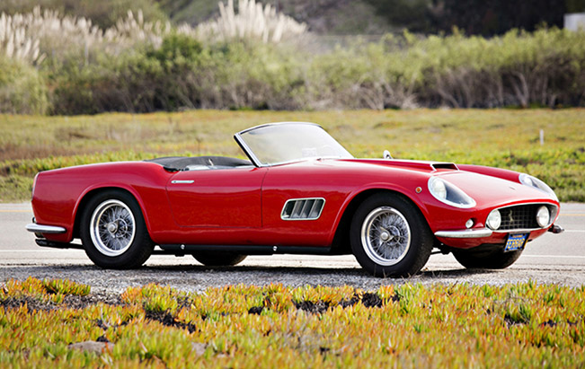 Ferrari 250 GT LWB California Spider 1959 Front Angle1 Stunning 1959 250 GT California Spider sells for 7.7 million