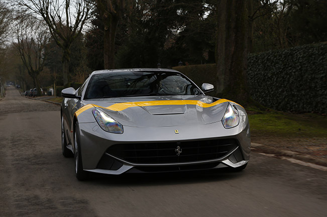 Ferrari F12berlinetta Tour de France 64 Front Angle The F12Berlinetta Tour de France 64 Revealed