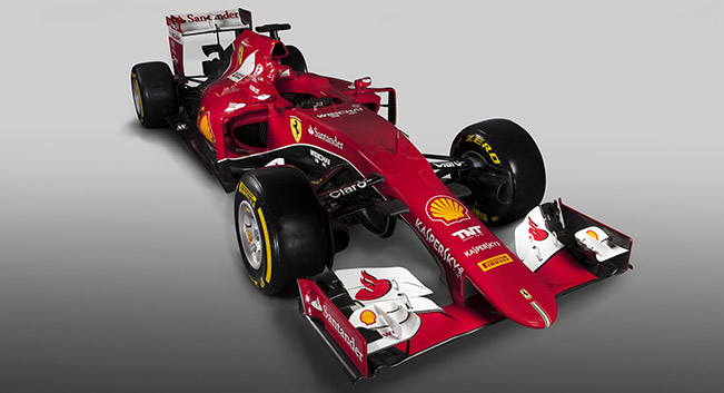 Ferrari SF15 T 2015 Front Angle SF15 T is Sixty First Car Built by Ferrari for F1