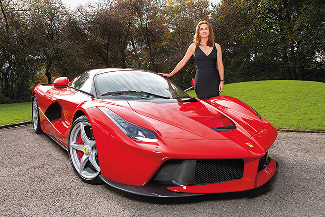 A LaFerrari for Lady Cornelia [VIDEO]