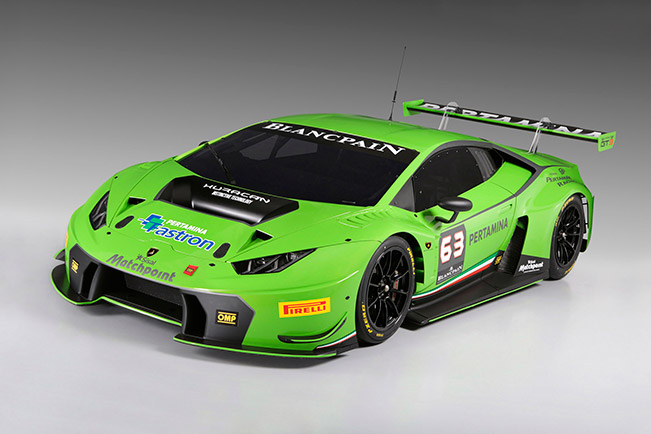 Automobili Lamborghini has Presented the New Lamborghini Huracán GT3