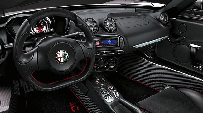 2016 Alfa Romeo 4C Spider Interior