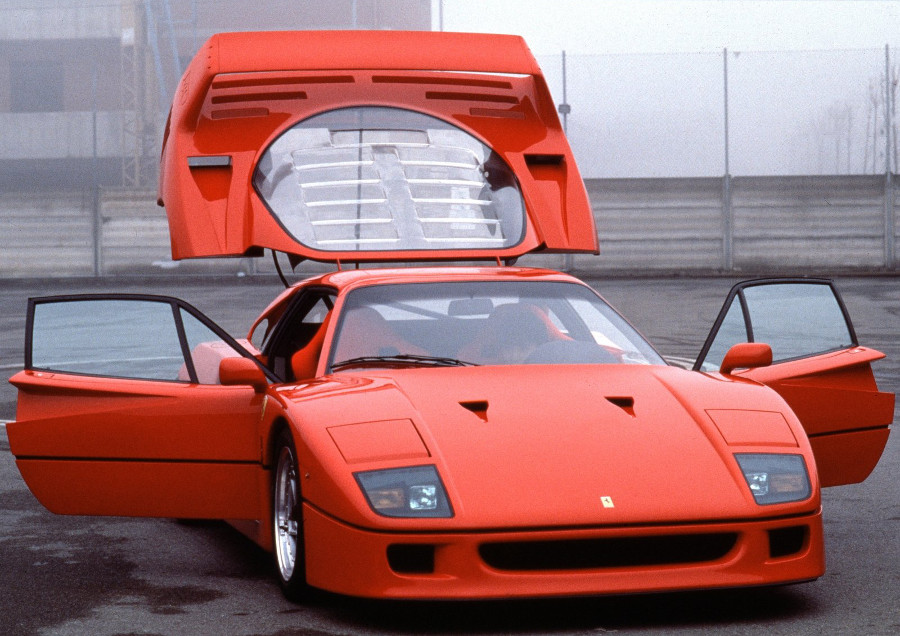 1987 Ferrari F40 Front Open Door