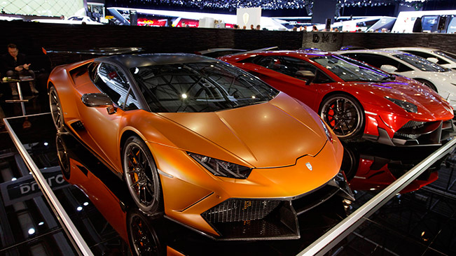 DMC at The Geneva Motor Show 2015