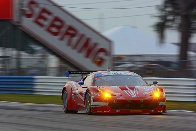 Double Podium for Ferrari at the 12 Hours of Sebring Double Podium for Ferrari at the 12 Hours of Sebring