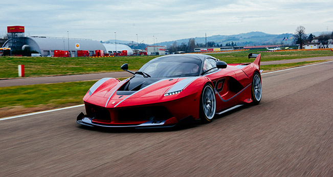 Ferrari FXX K 2015 Front Angle The FXX K is Best of the Best