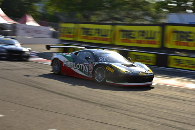Pirelli World Challenge Five Ferraris on track in St. Petersburg Pirelli World Challenge – Five Ferraris on track in St. Petersburg