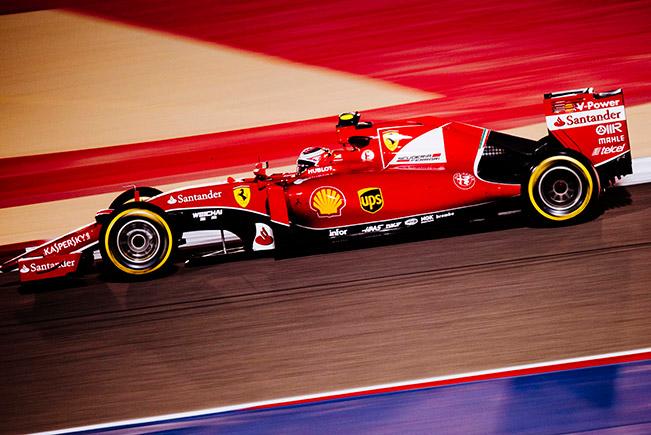 Bahrain Grand Prix - Kimi a splendid second, Seb fifth